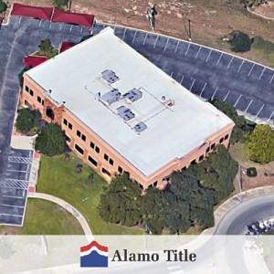 An Aerial View of Alamo Title San Antonio